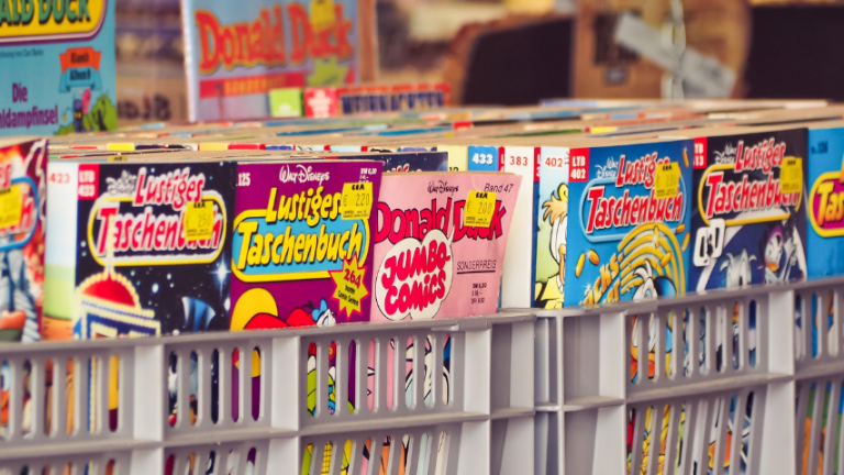 Why Comics Are Appealing
